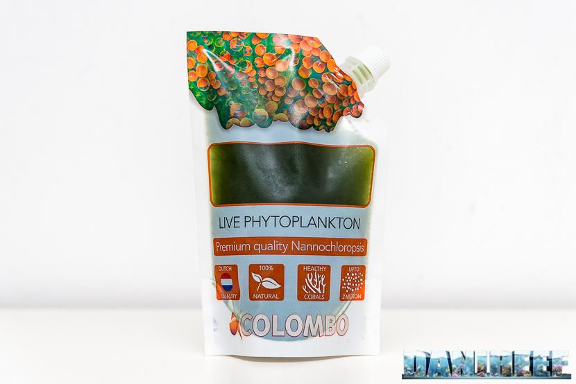 Live Phytoplankton - fitoplancton vivo in confezione da 250 ml