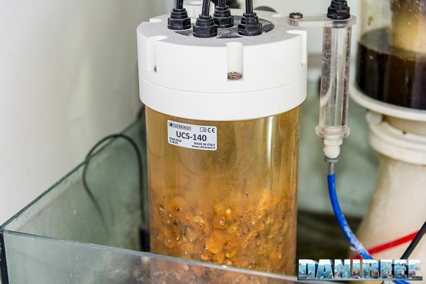 Reattore di calcio ultrareef UCS 140 in sump