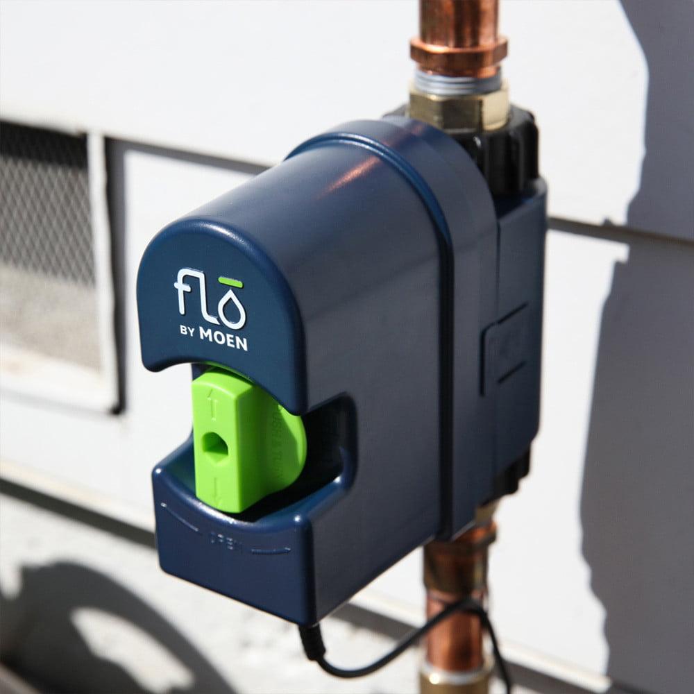 flo by moen - controllo fornitura acqua di casa - elettrovalvola