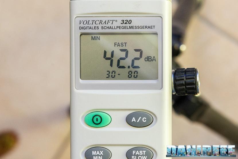 Schiumatoio UltraReef Akula UKS 180: misurazione del rumore