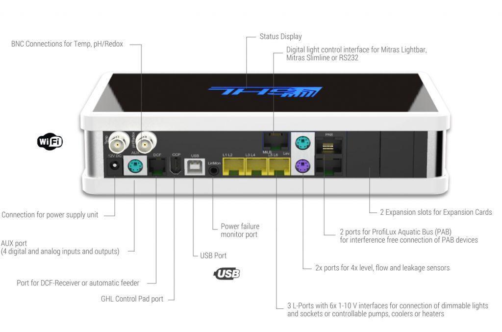 GHL Profilux 4e - schema di connessioni