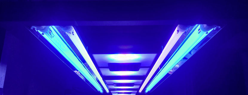 Plafoniera ibrida T5-LED Aquaticlife con Ecotech Marine Radion XR30w