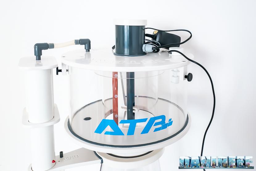 ATB Medium Size 25 - recensione dello schiumatoio da oltre 1300 l/h d'aria: bicchiere montato completo