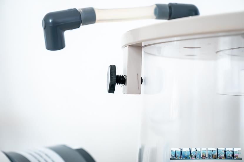 ATB Medium Size 25 - recensione dello schiumatoio da oltre 1300 l/h d'aria: sistema di recupero odore