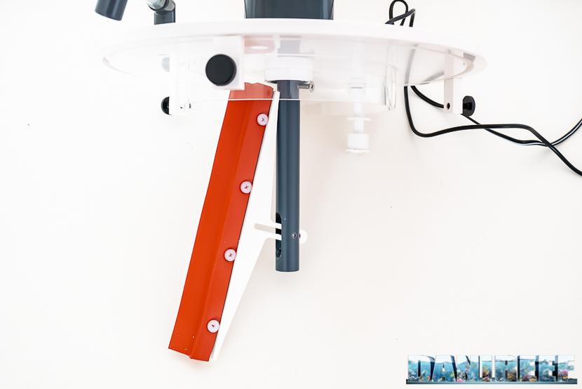 Schiumatoio ATB Medium Size: sistema di pulizia del collo del bicchiere