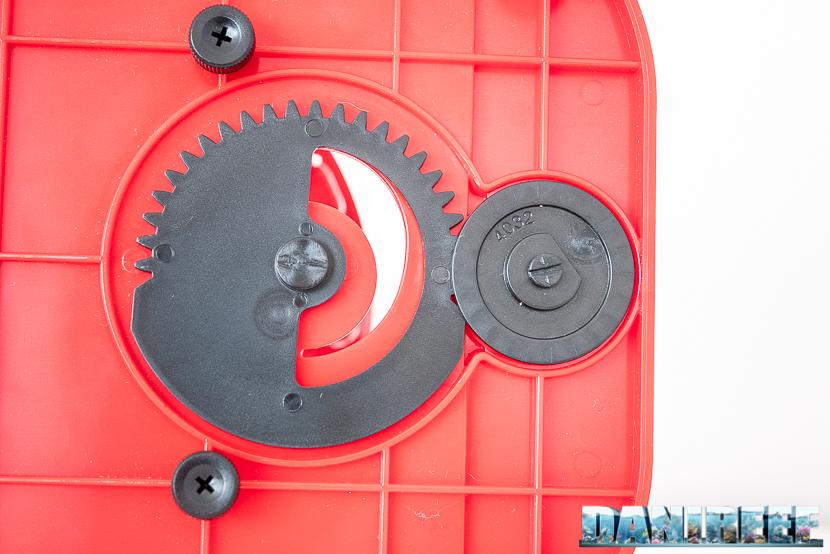 Red Sea RSK600 – La recensione dello schiumatoio senza manutenzione - particolare della saracinesca di scarico