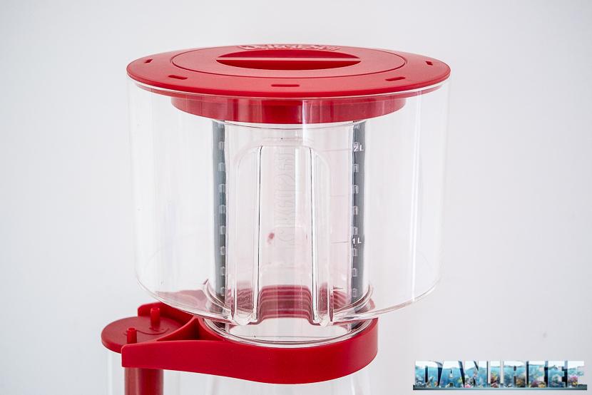 Red Sea Reefer Skimmer RSK600: bicchiere dello schiumatoio