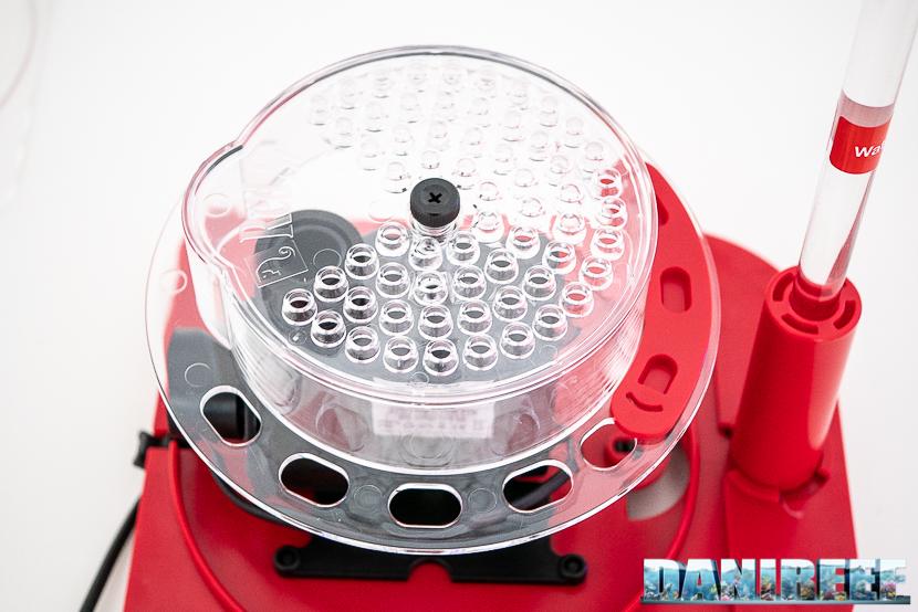 Red Sea RSK600 – La recensione dello schiumatoio senza manutenzione - particolare della piastra di diffusione
