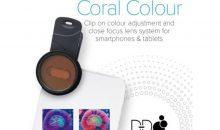 coral colour lens per fare fotografie perfette in acquario con lo smartphone