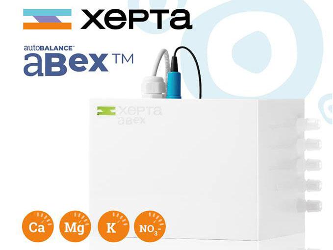 Xepta aBex: stazione di misura di Calcio, Magnesio, Potassio e Nitrati