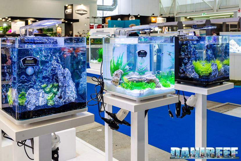 Zoomark 2019: nano acquari Blu Bios Nanux presso lo stand Mantovani Pet Diffusion