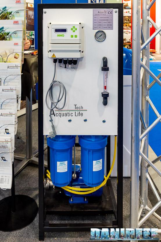Zoomark 2019: lo stand Acquatic Life con impianti di osmosi professionali
