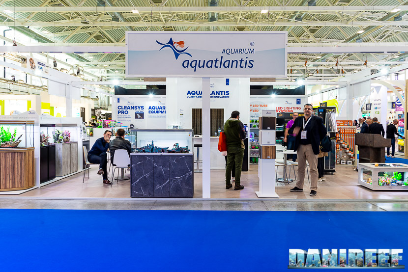 Lo stand Aquatlantis allo Zoomark 2019 di Bologna