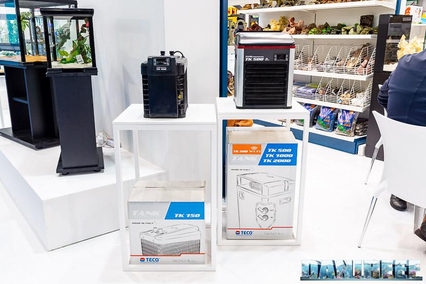 Refrigeratori Teco allo Zoomark 2019 presso lo stand Mantovani Pet Diffusion