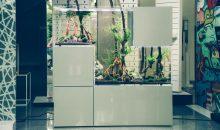 L'acquario Tetris della New Wave – design allo stato puro