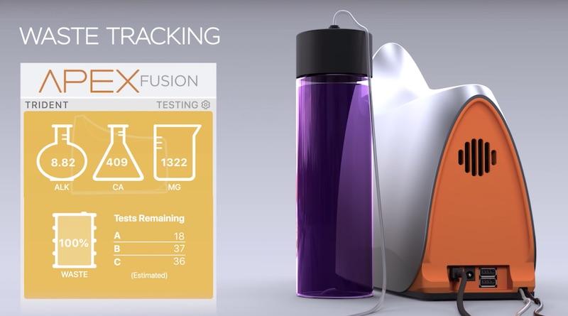 Neptune Trident sistema di monitoraggio automatico di calcio magnesio e kh