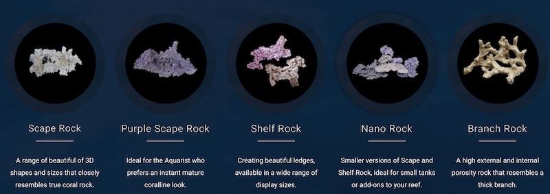 "Rocce vive artificiali ""Marine Reefs Rock"" da SolviReef"