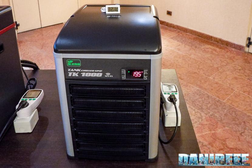 Nuovo refrigeratore Teco Tk 1000 R290 - consuma fino alla metà e riscalda molto meno dei precedenti