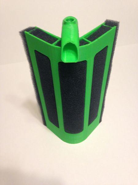 Filtri angolari stampati con stampante 3D