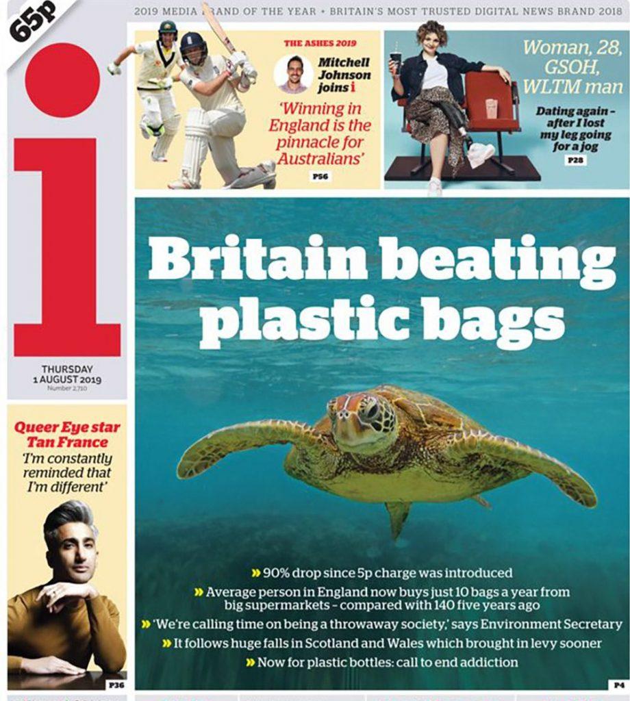 Abbiamo spesso trattato del tema della plastica, oggi tiriamo le fila, partendo dai dati che ci arrivano dall'Inghilterra
