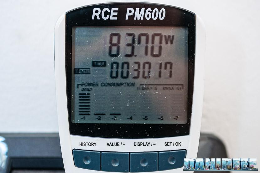 Rossmont Riser RX 5000 - recensione - la potenza che mancava - consumo elettrico