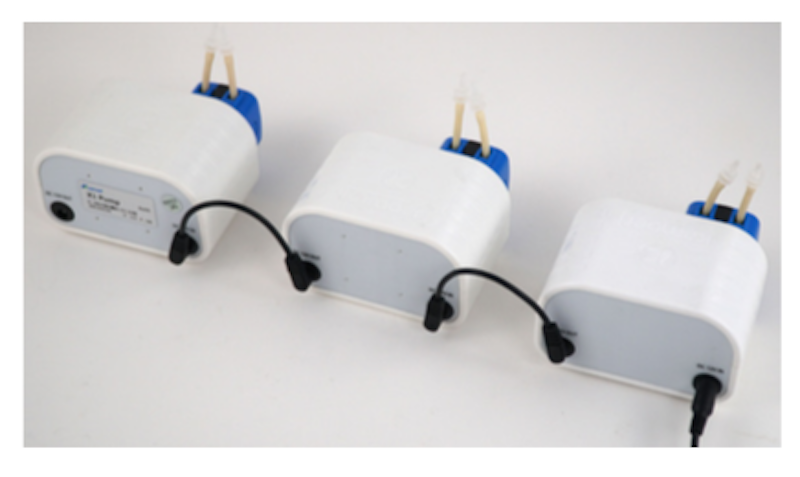 Kamoer X1 Micropump in serie
