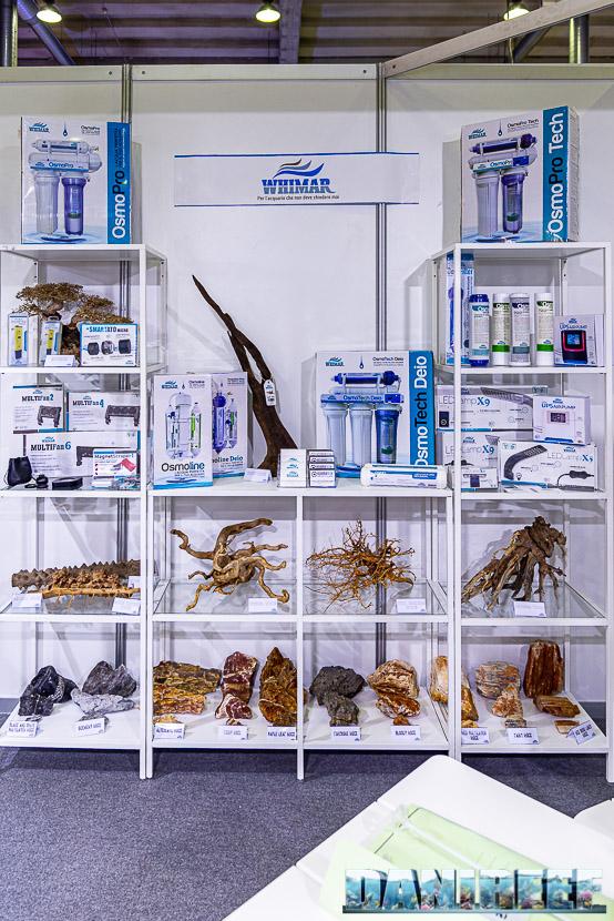 Aquariatech al PetsFestival per la prima volta con tanti nuovi prodotti - i prodotti Whimar