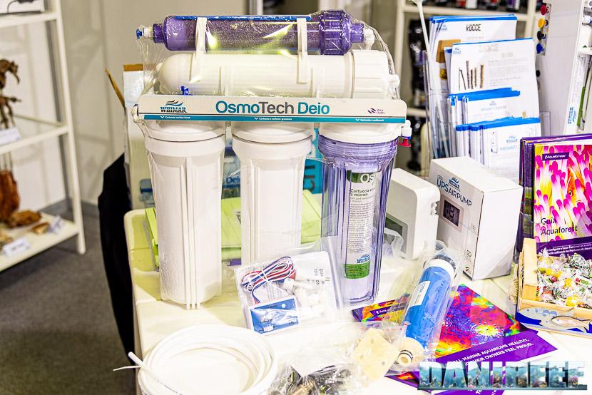 Aquariatech al PetsFestival per la prima volta con tanti nuovi prodotti - impianto ad osmosi Whimar