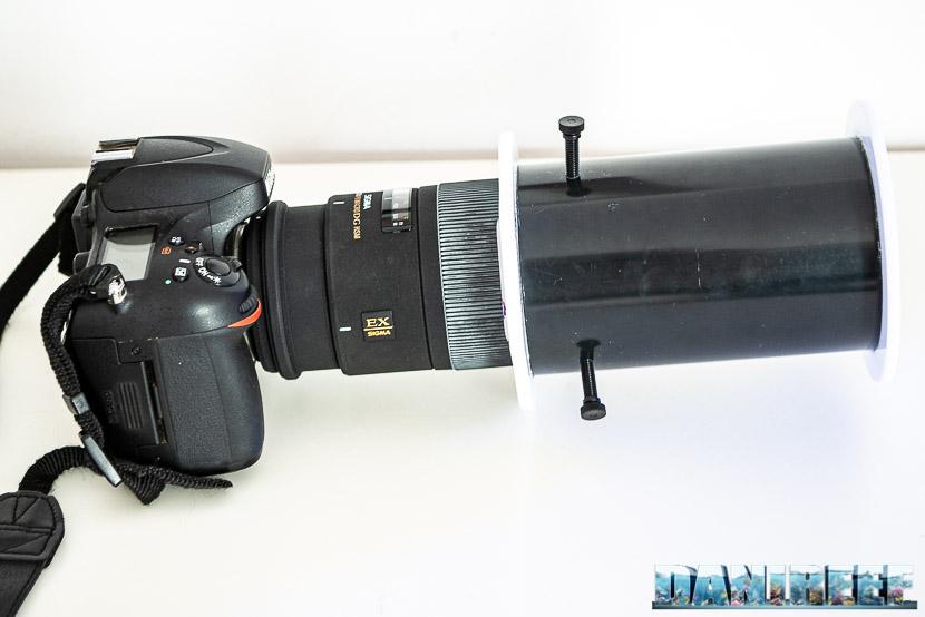 Adattatore per foto in acquario Pacific Sun U-Look Adaptor: Sigma 150 macro