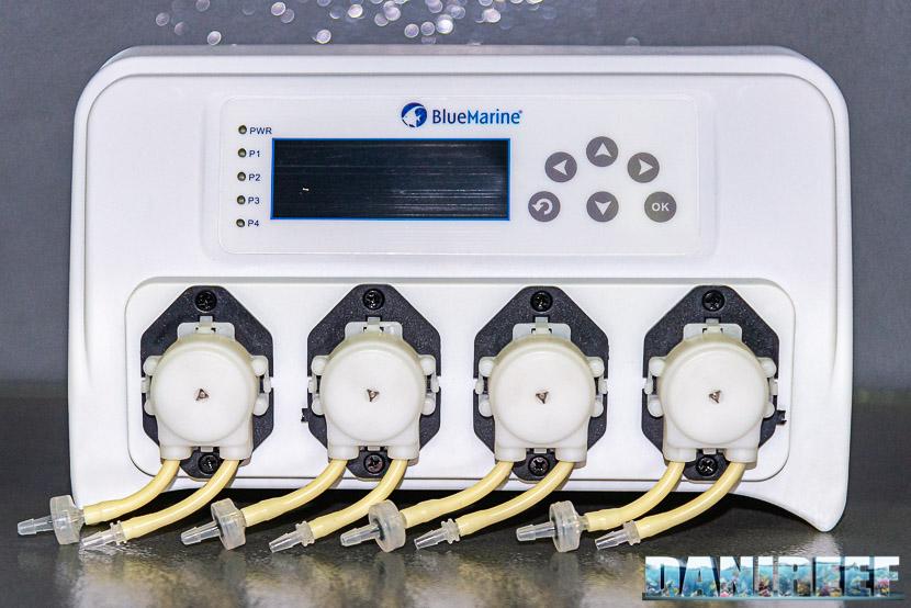 Iquitos introduce in Italia la nuova pompa dosometrica BlueMarine a 4 canali