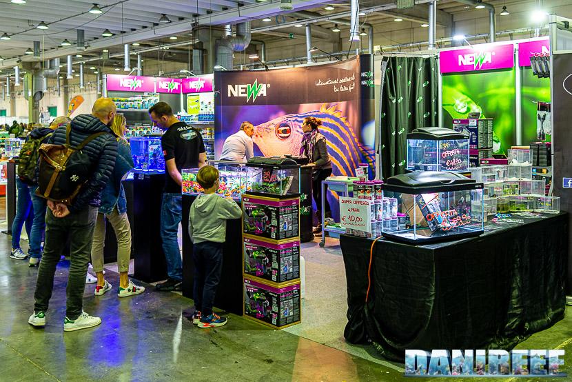 Newa torna al PetsFestival in grande stile e sponsorizza il Centropyge Show: lo stand