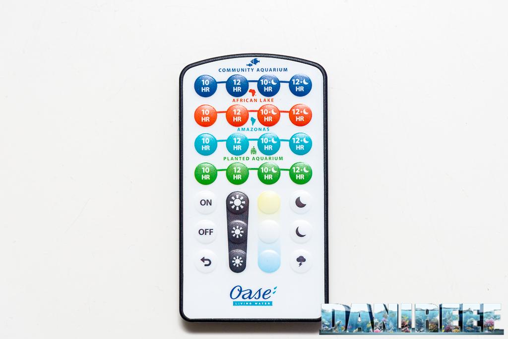 Le barre a LED Oase Highline Premium LED 65 testate nel DaniReef LAB