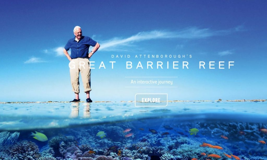 Esplorate gratuitamente Great Barrier Reef ed immergetevi con noi