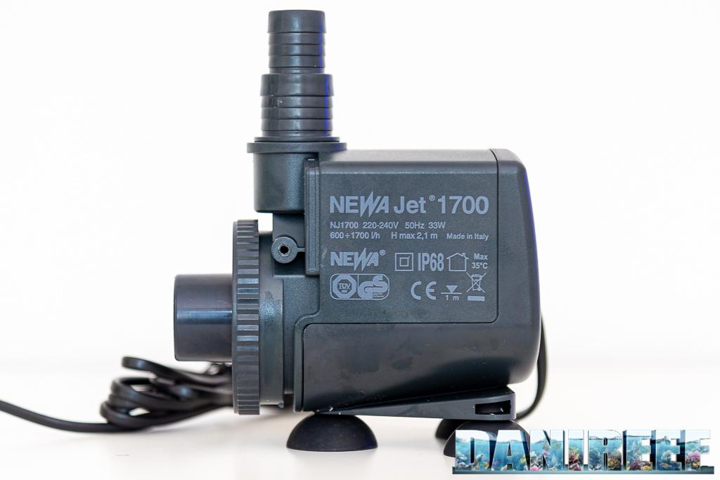 Pompa di risalita Newa Jet 1700 - recensione - mantiene ciò che promette