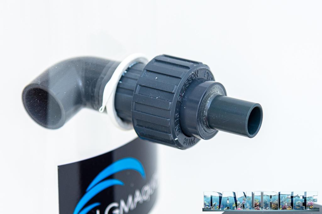 Schiumatoio LGMaquari LGs950: solido, efficiente e doppia pompa - aggancio della pompa di schiumazione