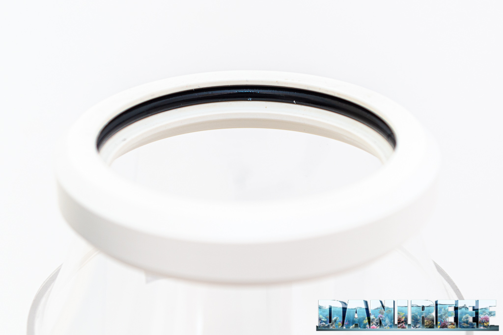 Schiumatoio LGMaquari LGs950: solido, efficiente e doppia pompa - guarnizione di tenuta del bicchiere