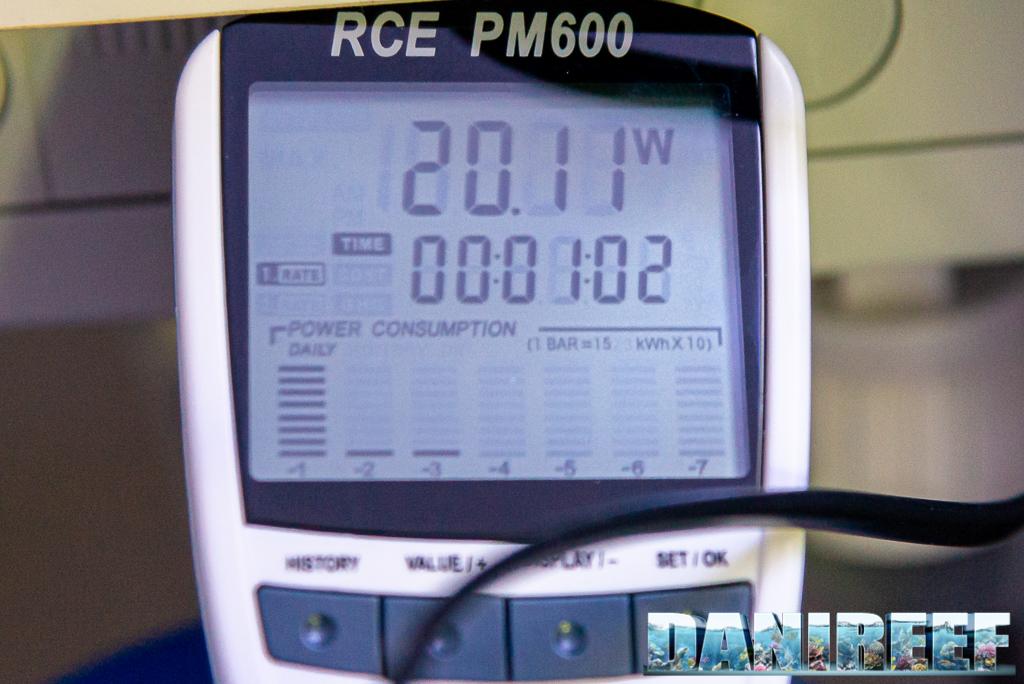 Schiumatoio LGMaquari LGs950: solido, efficiente e doppia pompa - consumo della pompa di schiumazione
