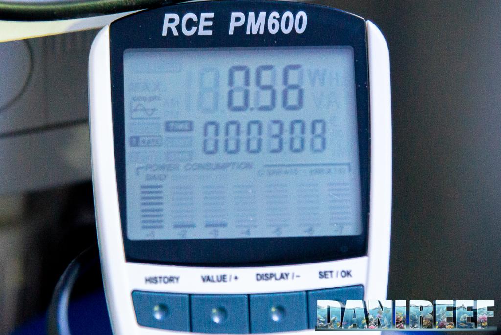 Schiumatoio LGMaquari LGs950: solido, efficiente e doppia pompa - valore dello sfasamento della pompa di schiumazione