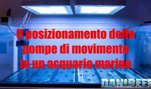 Come posizionare le pompe di movimento in acquario marino – guida