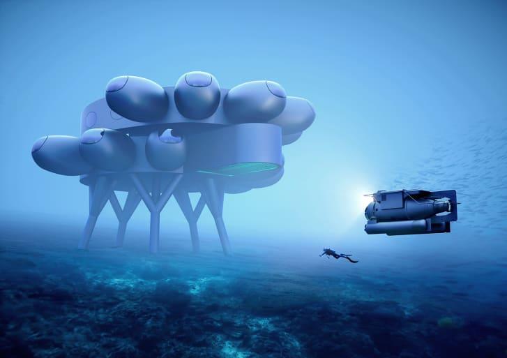 Fabien Cousteau's Proteus Credit: Courtesy Proteus/Yves Béhar/Fuseproject