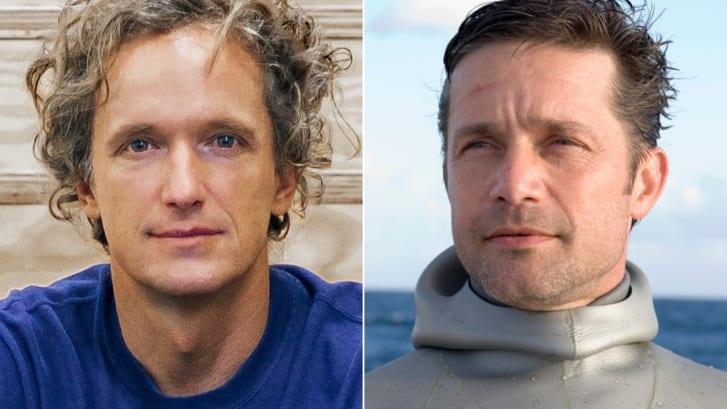 Yves Behar (a sinistra) e Fabien Cousteau (a destra) guidano il progetto Proteus. Credito: Fuseproject / Clare Vonderhaar