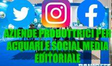 Editoriale: le aziende produttrici del mondo degli acquari ed i social media
