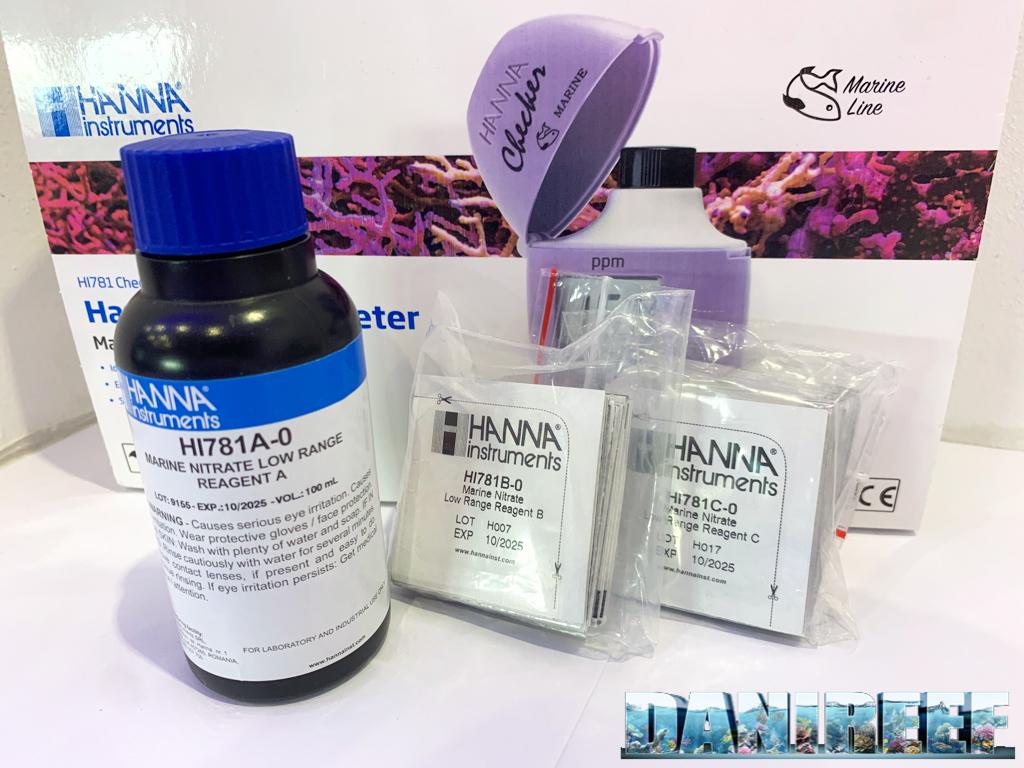I reagenti necessari per effettuare 25 misurazioni.