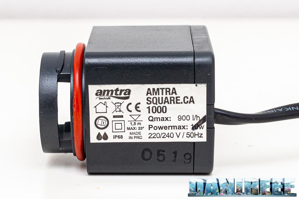 Il nuovo reattore di calcio AMTRA Square CA 1000 con ricarica semplificata