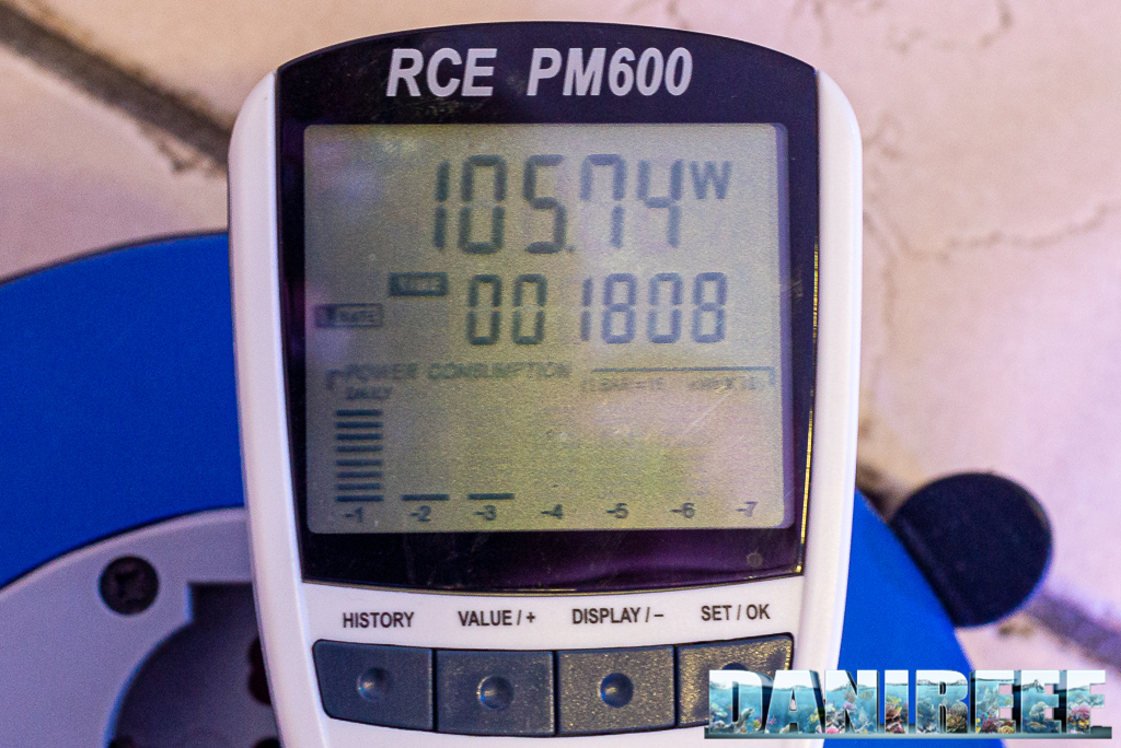 Radion XR15 G5 PRO la recensione nel DaniReef LAB: perfetta per nanoreef