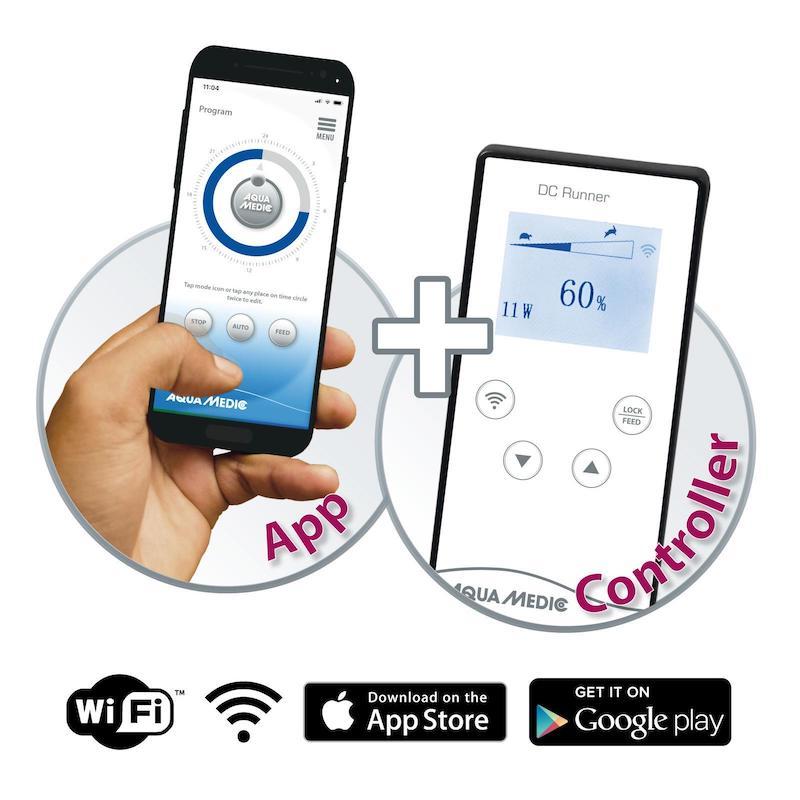 Aqua Medic aggiunge il controllo wifi alle proprie pompe di risalita