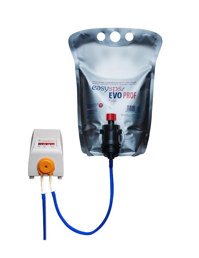 Easysps EVO: fitoplancton adatto per essere dosato con pompa dosometrica