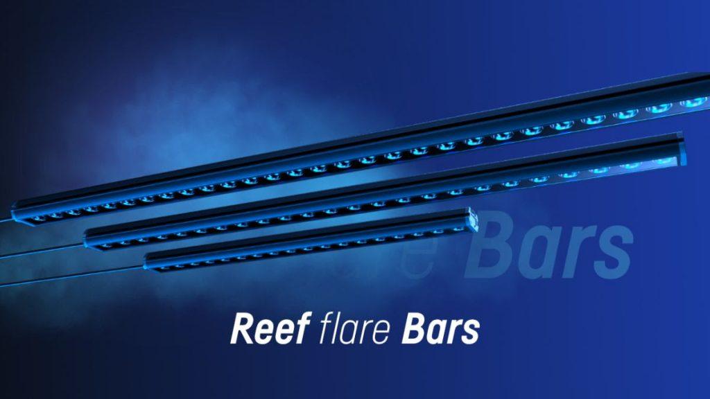 Reef Flare Bars: nuove barre a LED sempre connesse e dimmerabili