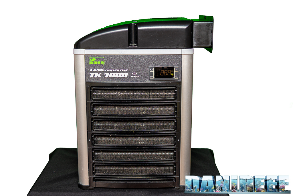 Refrigeratore o ventole (o entrambe) per mantenere fresco l'acquario?