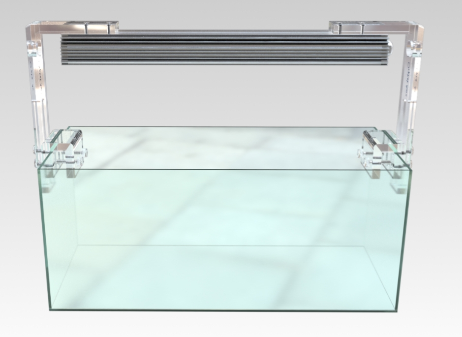 Orphek Aura - aggancio in acrilico a bordo vasca per le barre OR